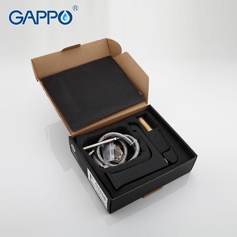 Gappo Aventador G1050 — Змішувач для умивальника - 5