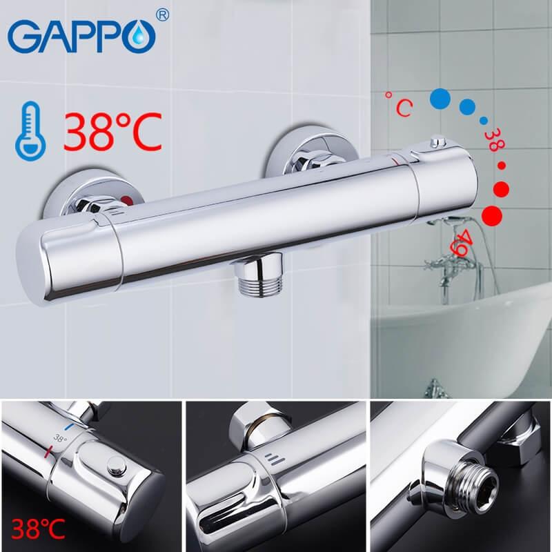 Gappo G2090 — Змішувач для душа з термостатом - 1