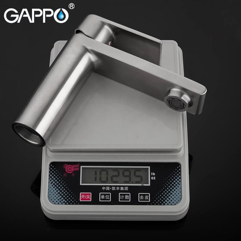 Gappo Satenresu-ko G1099-20 — Змішувач для умивальника - 5