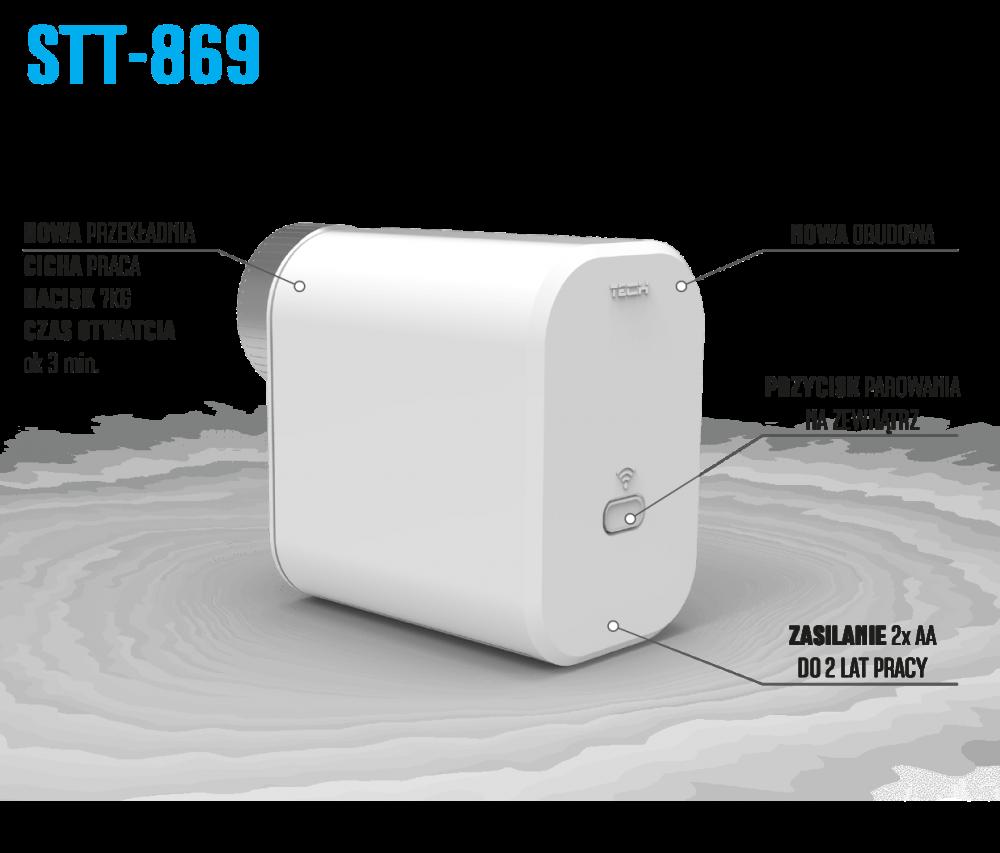 Бездротовий термоелектричний привід STT-869 - 1