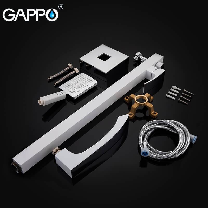 Gappo Jacob G3007-8 — Змішувач для ванни - 5