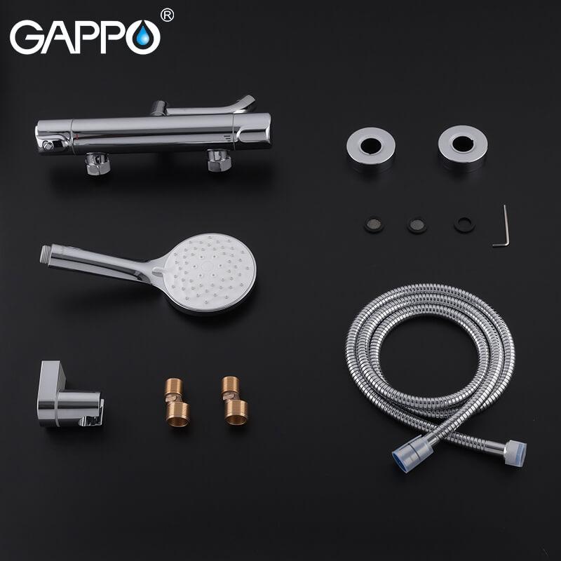 Gappo G3290 — Змішувач для ванни з термостатом - 7