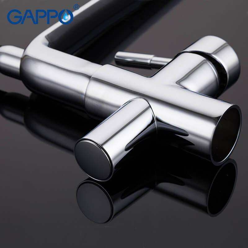 Gappo G4398-7 — Змішувач для кухні пiд фiльтр - 3