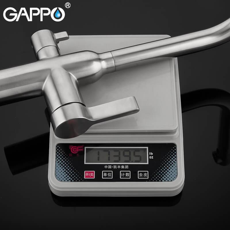 Gappo G4399-4 — Змішувач для кухні пiд фiльтр - 4