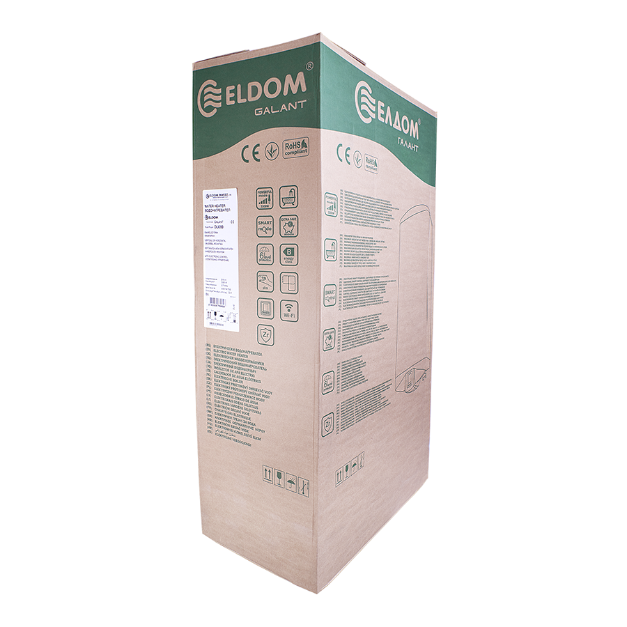 Бойлер ELDOM GALANT DU080 Мокрий тен - 5
