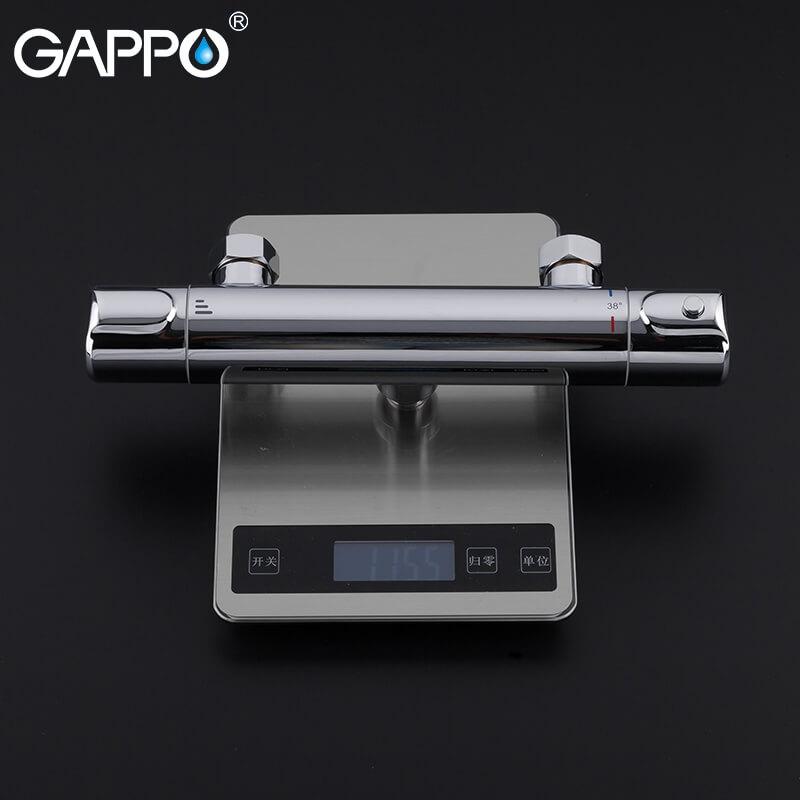 Gappo G2090 — Змішувач для душа з термостатом - 4