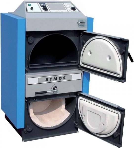 Твердопаливний (Піролізний) котел Atmos AC 25 S - 2
