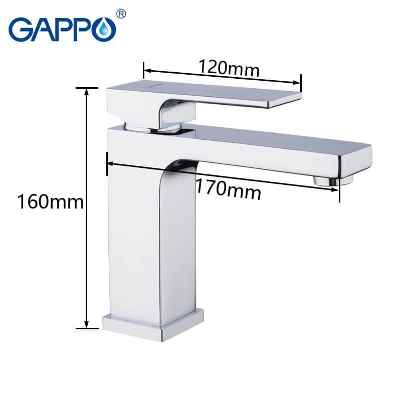 Gappo Futura G1018 — Змiшувач для умивальника - 1
