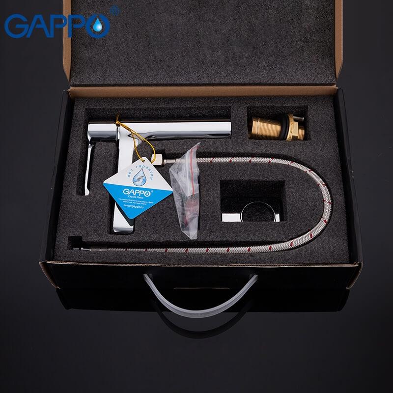 Gappo Tomahawk G1002-2 — Змішувач для умивальника - 4