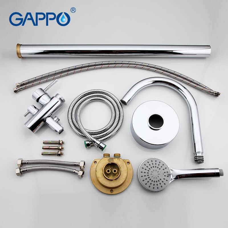 Gappo Jacob G3098 — Змішувач для ванни - 6