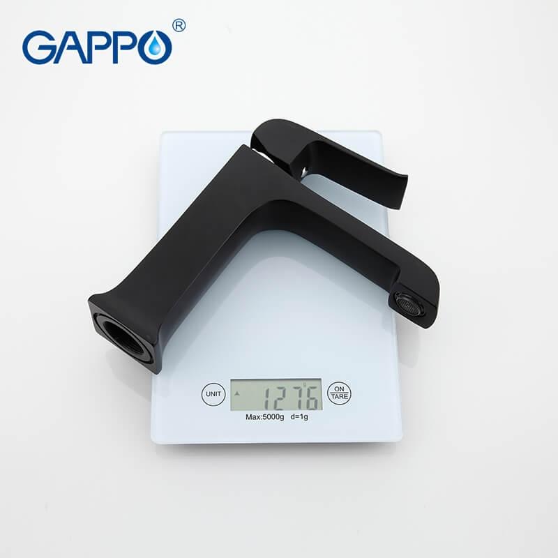 Gappo Aventador G1050 — Змішувач для умивальника - 3