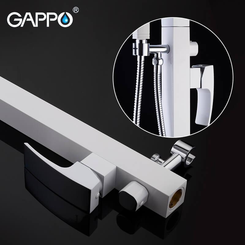 Gappo Jacob G3007-8 — Змішувач для ванни - 2