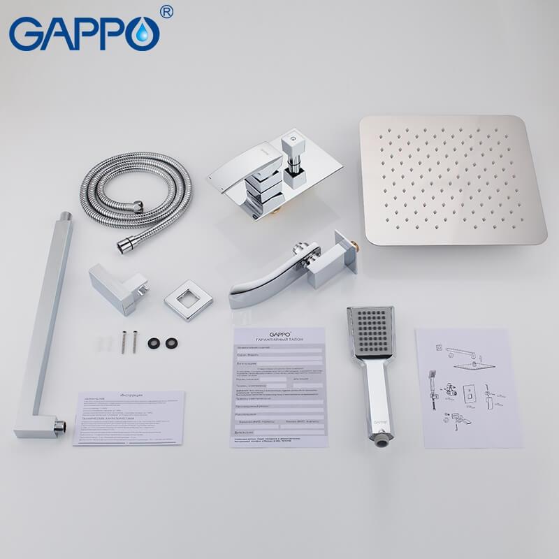 Gappo Jacob G7107 — Душова система - 4