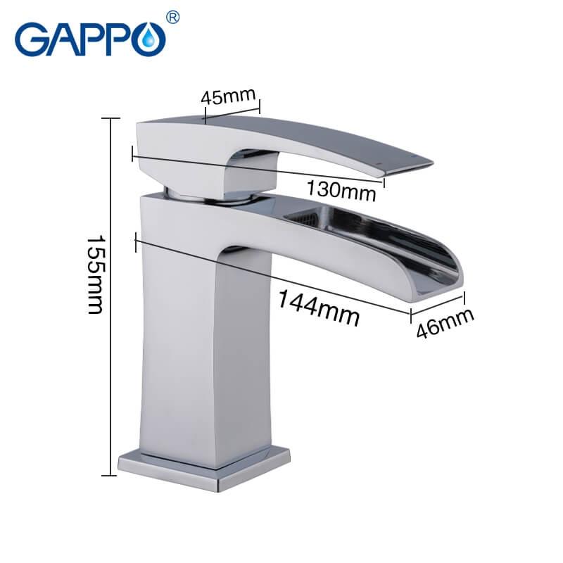 Gappo Jacob G1007-20 — Змішувач для умивальника - 1