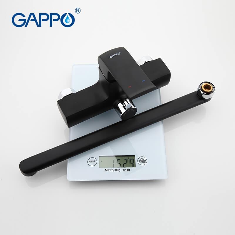 Gappo Aventador G2250 — Змішувач для ванни - 4