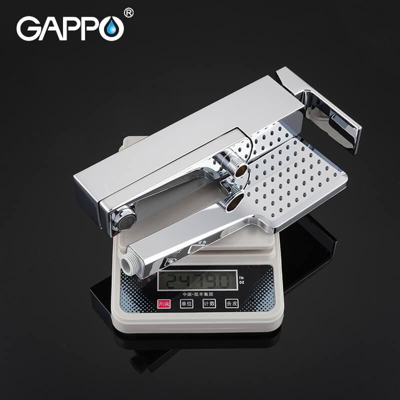 Gappo Futura G3218 — Змішувач для ванни з термостатом - 5