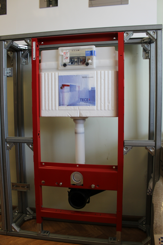 Інсталяція ТЕСЕ для підвісного унітазу з фронтальним положенням панелі зливу, висотою 1120 мм  - 2