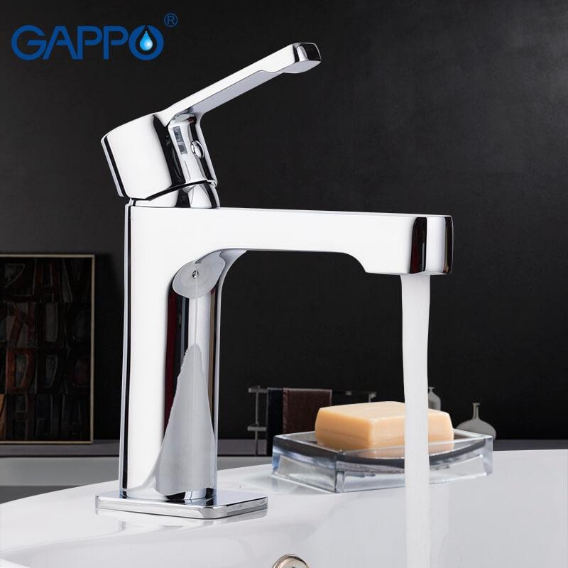 Gappo Tomahawk G1002-2 — Змішувач для умивальника - 6