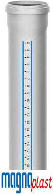 Труба каналізаційна 110х2,7 мм стінка Htplus Magna Plast - 2