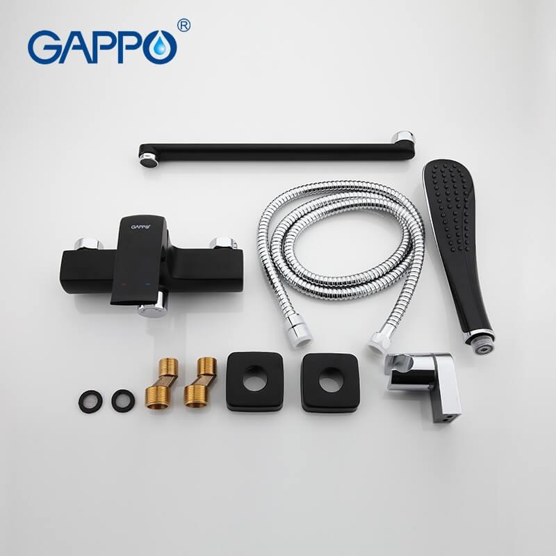 Gappo Aventador G2250 — Змішувач для ванни - 3