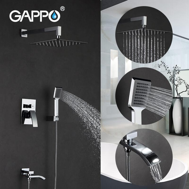 Gappo Jacob G7107 — Душова система - 2