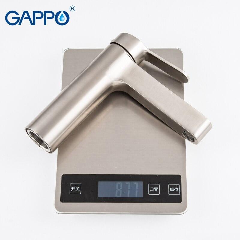 Gappo Satenresu-ko G1099-30 — Змішувач для умивальника - 2