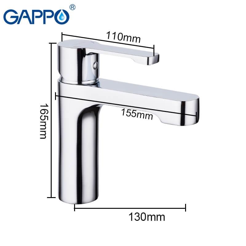 Gappo Tomahawk G1002-2 — Змішувач для умивальника - 2