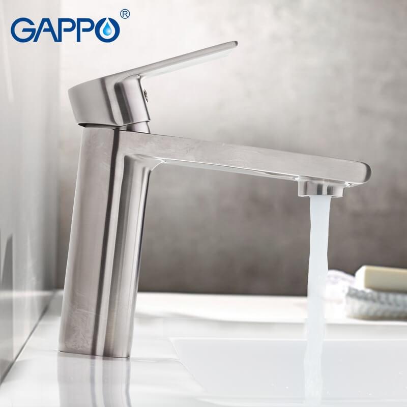 Gappo Satenresu-ko G1099-20 — Змішувач для умивальника - 1