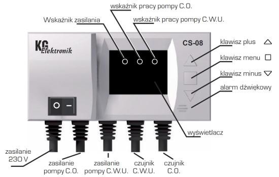 KG Elektronik CS-08 (для насоса ЦО і насоса ГВС) - 1