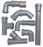 Труба каналізаційна Ǿ - 50:довжина 2-1-0.5-0.315-0.25 метра - 1