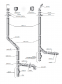 Димохідна труба нержавійка з теплоізоляцією в нержавійці  L = довжина :1м, Сталь : 0,6 мм - 2
